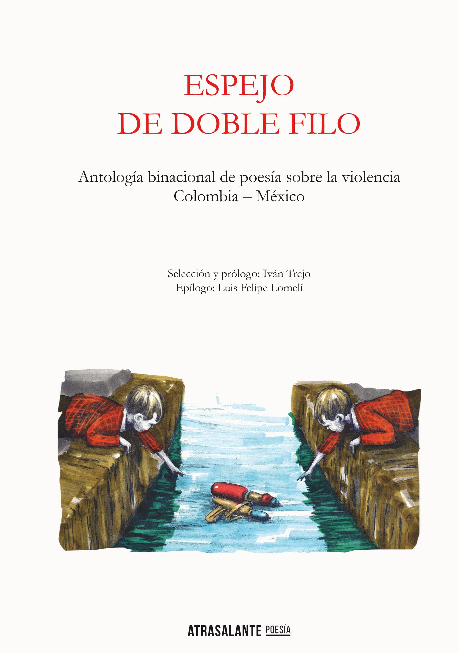 Espejo de doble filo – Antología binacional de poesía sobre la violencia