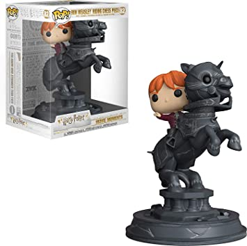 Figura Funko Movie Moment Ron Riding Chesspiece – Harry Potter