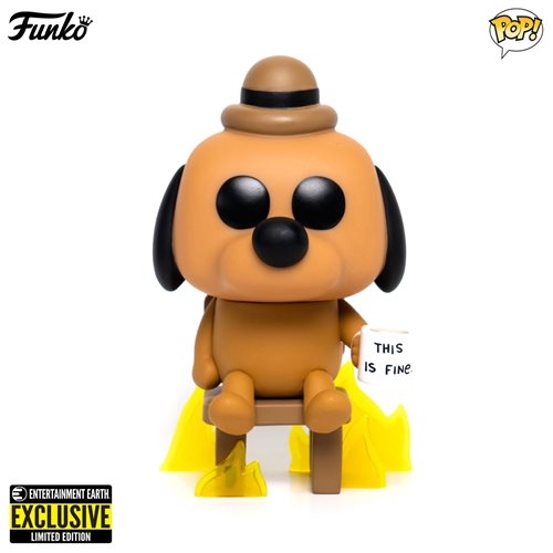 Preventa: Figura Funko POP This is Fine Dog Exclusive